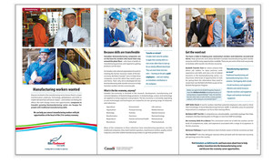 <b>BioTalent Canada</b><br />Biomanufacturing Program/Champions brochure