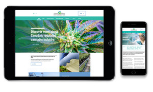 <b>Cannabis Canada Association</b><br />Website design.