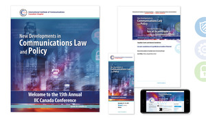 <b>IIC Canada</b><br />2017 Conference Materials