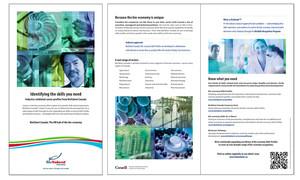 <b>BioTalent Canada</b><br />Skill Profile brochure