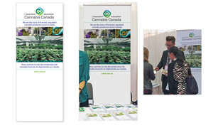 <b>Cannabis Canada Association</b><br />Trade show/conference materials