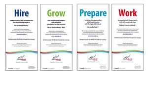 <b>BioTalent Canada</b><br />Biomanufacturing Program/Regional print ad campaign